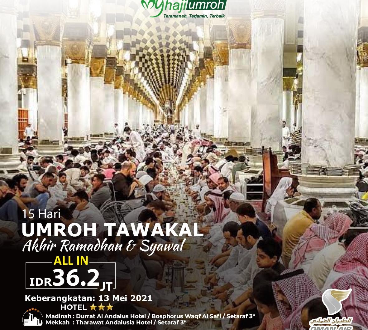 Paket Umroh Ramadhan 2021