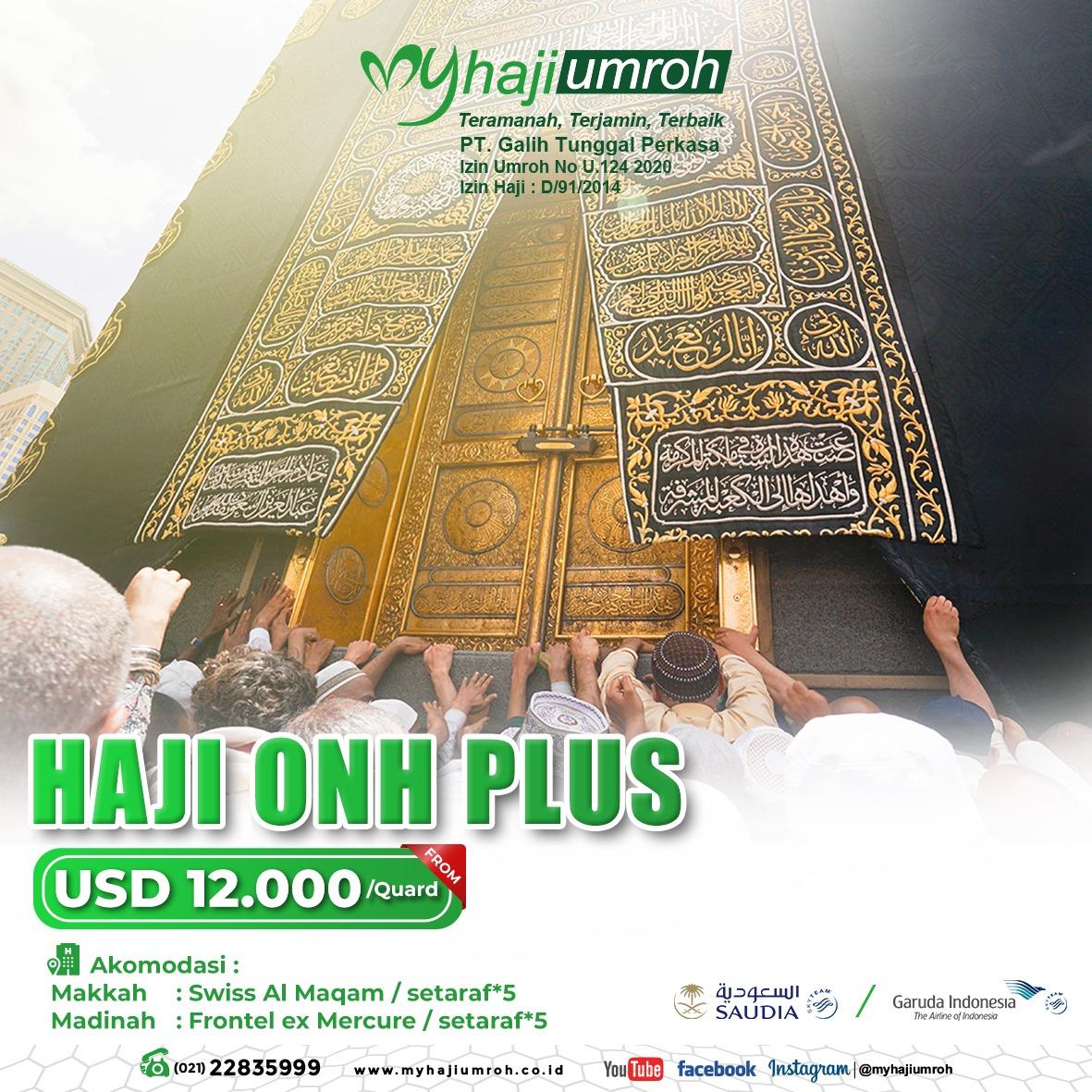 Haji ONH Plus 2021
